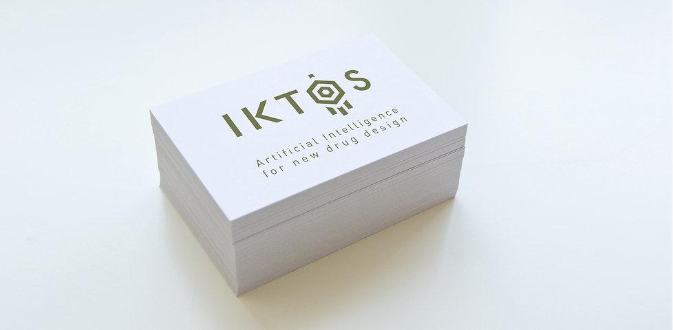 Site internet IKTOS - Un autre regard créatif - Thierry Mercier