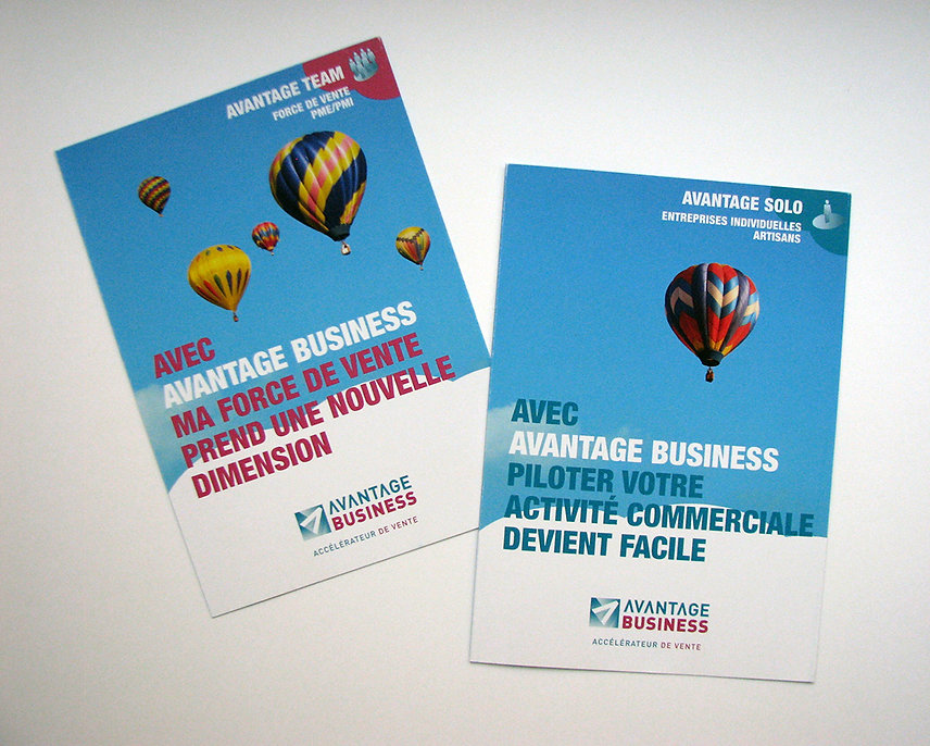 Dépliant Avantage Business