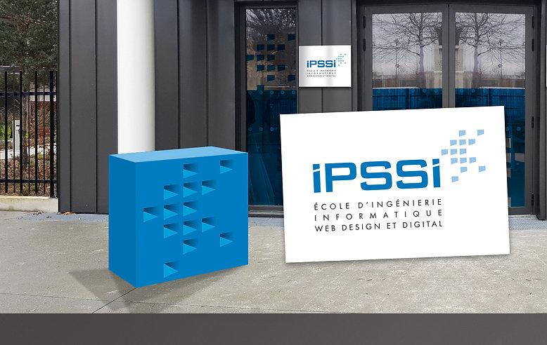 un autre regard créatif - nouvelle identité pour l'école IPSSI