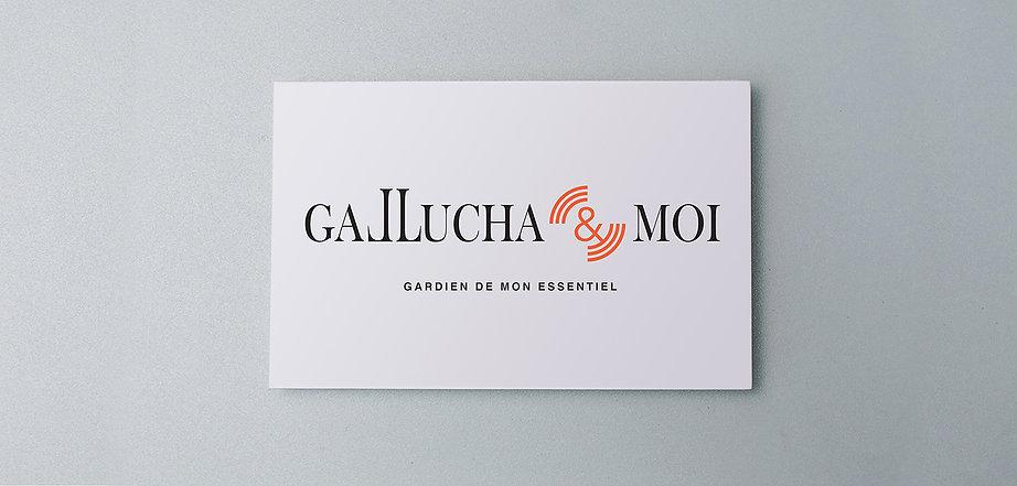 un autre regard créatif - nouveau logo Gallucha & Moi