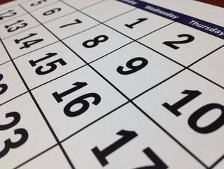 Agenda : Septembre 2015