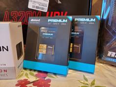 256 GB SSD's