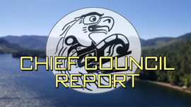Chief Councillor Report - February 1, 2021