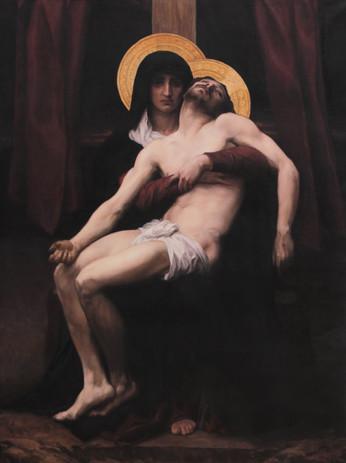 Master copy of William Bouguereau's Pieta