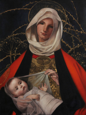 Master copy of Marianne Stoke's Madonna and Child