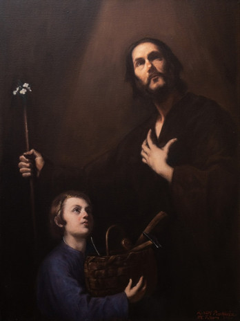 Master copy of Ribera's St. Joseph and the Christ Child