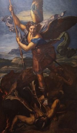 Master copy of Raphael's St. Michael the Archangel