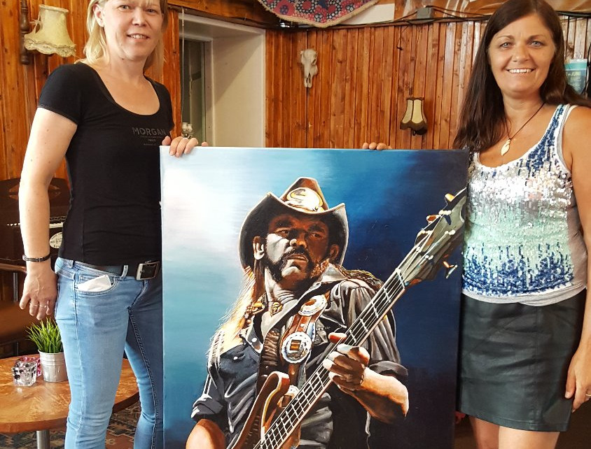 Lemmy Kilmister overhandigd bij De Hip