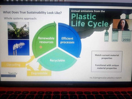Webinar on Plastics and Climate Change