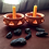 Thumbnail: เทียนพลังแสงออร่าสีเหลือง-จักระที่3 (Solar Plexus)-Antik's aura candles