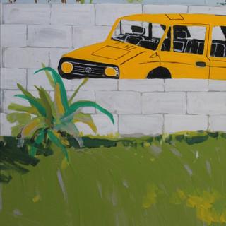 Golf GTI jaune