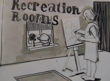Recréation rooms