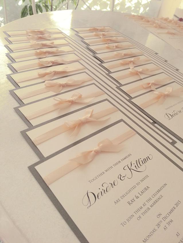 Wedding Invitation Sydney Ribbon Classic Australia Elegant Invites Stationery.jpg