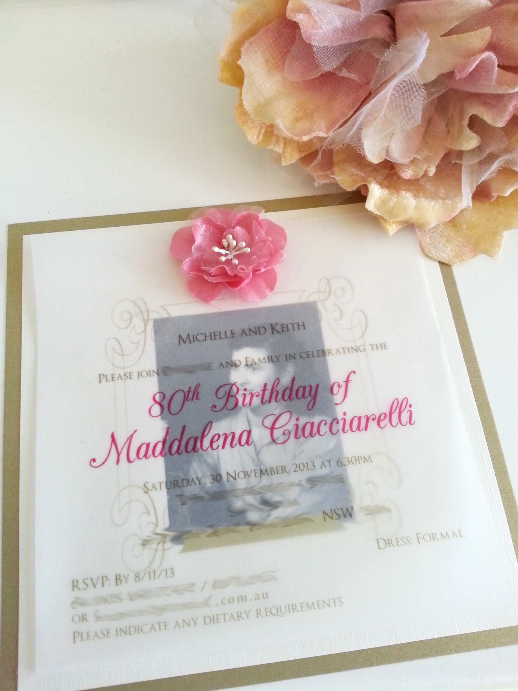 80th+Birthday+invitation+with+flower+Sydney.jpg