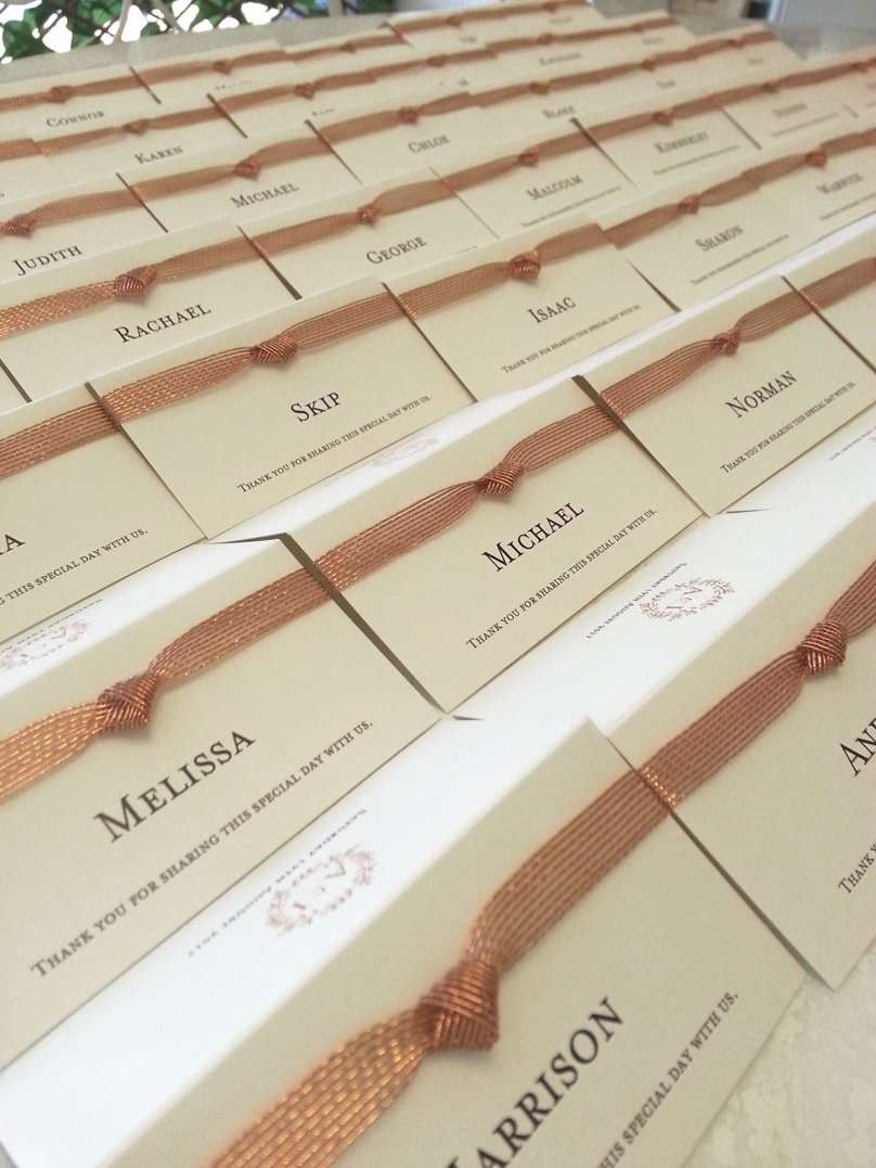 Wedding Place cards Name cards Sydney Au