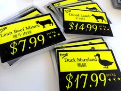 Food ticket price custom Australia