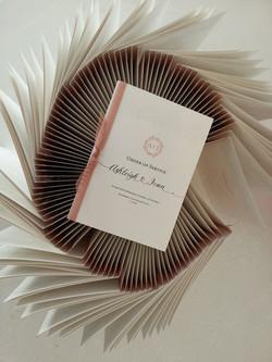 Wedding order of service church booklet Sydney Australia.jpg