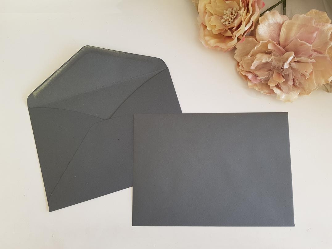 Grey C5 envelopes Sydney Australia Dark