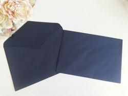 Matt Navy Blue C5 envelopes Sydney Australia Fit A5 size envelopes