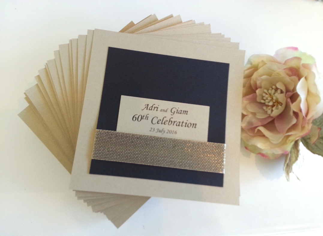 60th Birthday Gold Black invitations Sydney Australia.jpg