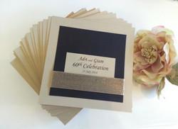 60th Birthday Gold Black invitations Sydney Australia.jpg
