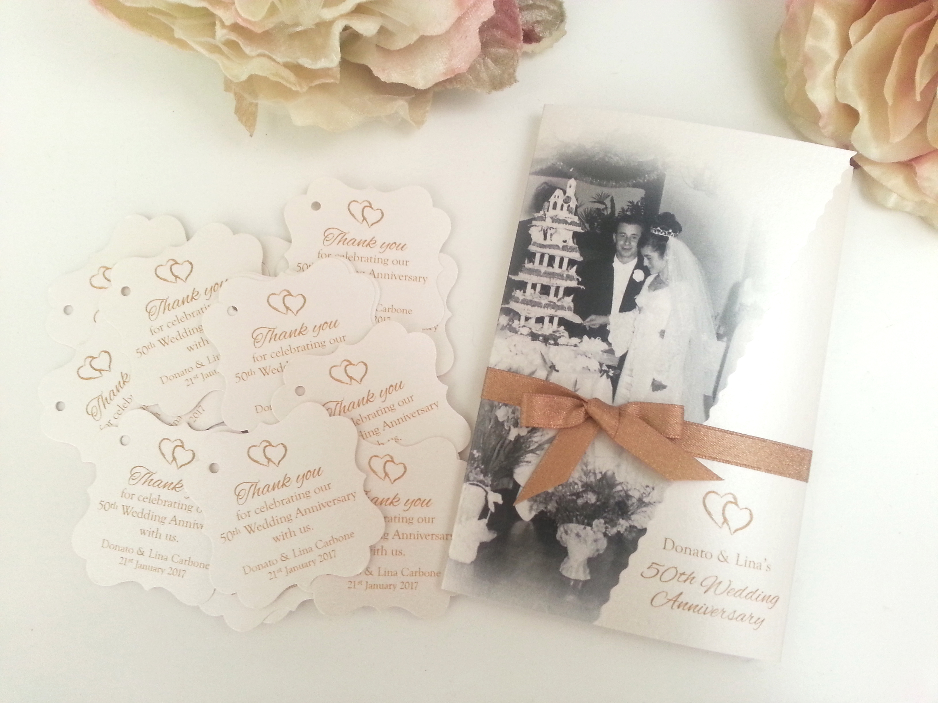 50th Anniversary wedding invitation sydney gold.jpg