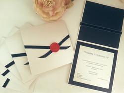 70th Birthday invitations sydney wax seal hardcover.jpg