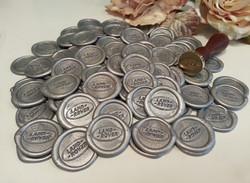 Land Rover Silver Wax seal stickers Sydney Australia.jpg