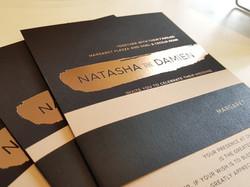Wedding Invitation Sydney Australia - Bl