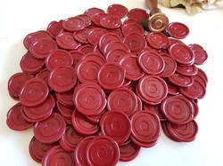 Macquarie Bank Wax seal stickers Sydney