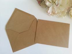 Kraft recycle 13cm by 18cm Banker envelopes fit 5 inch by 7 inch Sydney Australia