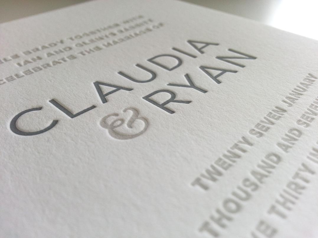 Letterpress wedding invitations sydney contemporary Australia.jpg