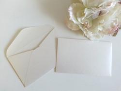 Metallic Off White 120gsm 11B envelopes v flap Sydney Australia
