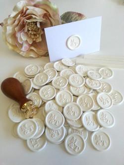 Custom white peel seals wax stickers.jpg