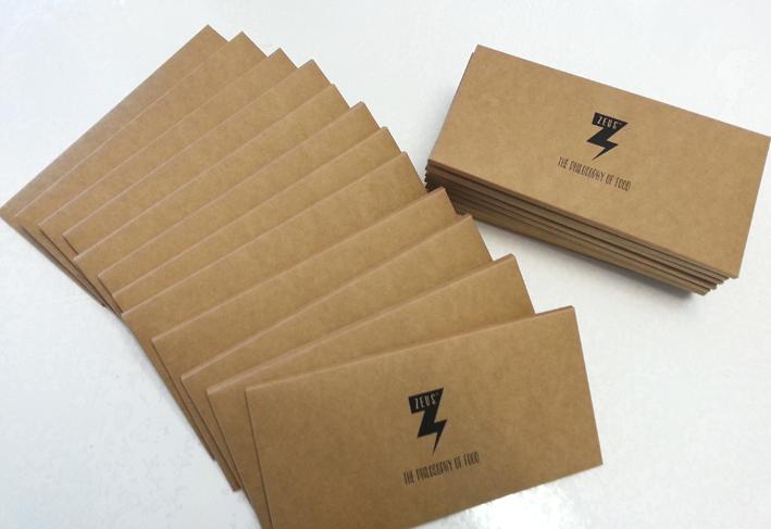 Kraft Recycle Hessian DL envelope box one piece sydney Australia