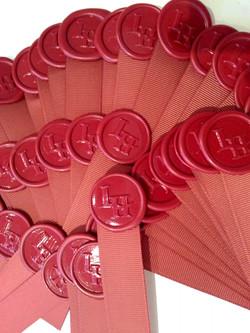 Premade Wine wax seals sticker with ribbon.jpg