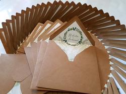 Rustic Gum tree Australian native Wedding envelope lining stationery with matching invitation Sydney