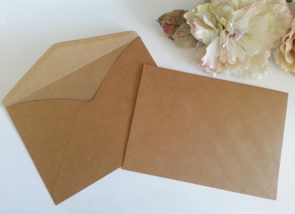 Kraft Recycle Hessian C5 envelopes Sydney Australia