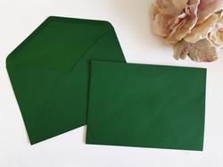 C5 envelopes Sydney Australia Forest Green Dark deep green Bottle green envelopes