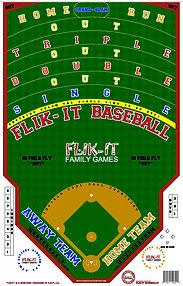 "Flik-it Baseball 24"" x 36"""