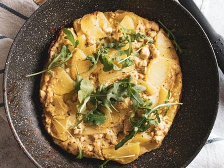 Torta di patate senza forno