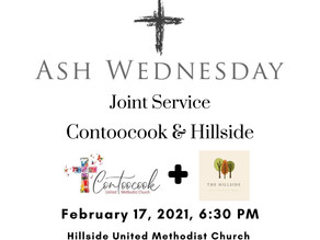 (2/17/2021) Ash Wednesday Joint Live Service
