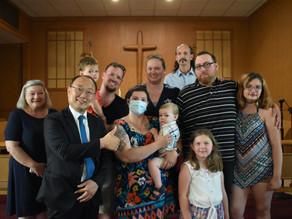 Baptismal Service for Wyatt Ronald Feudner