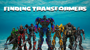 Finding Transformers #2 Organic Community at 7 pm, October 13, 2020