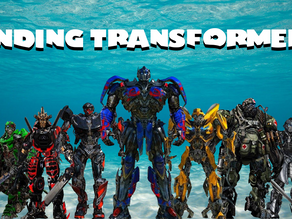 """About """"Finding Transformers"""""""