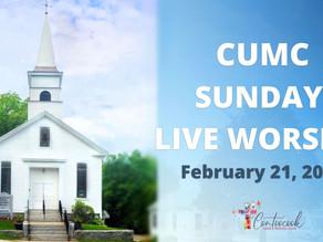 (2/21/2021) Sunday Live Worship