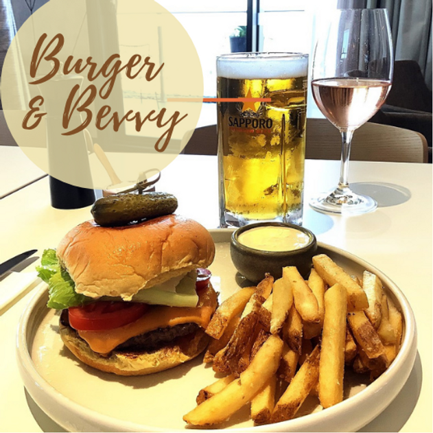 Burger & Bevvy $25 lunch deal