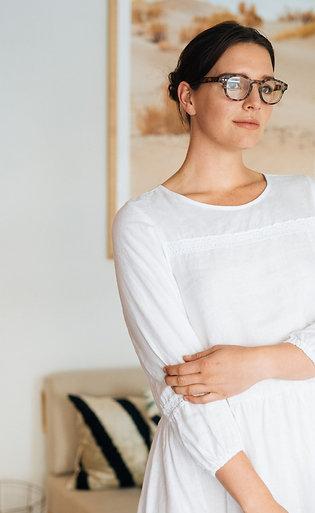 Carly linen dress