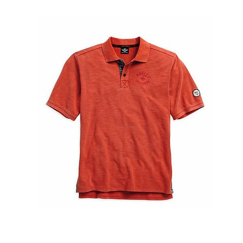 POLO MAILLE ROUGE