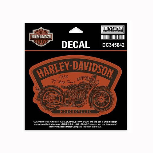 DECAL TIMELINE MOTORCYCLE